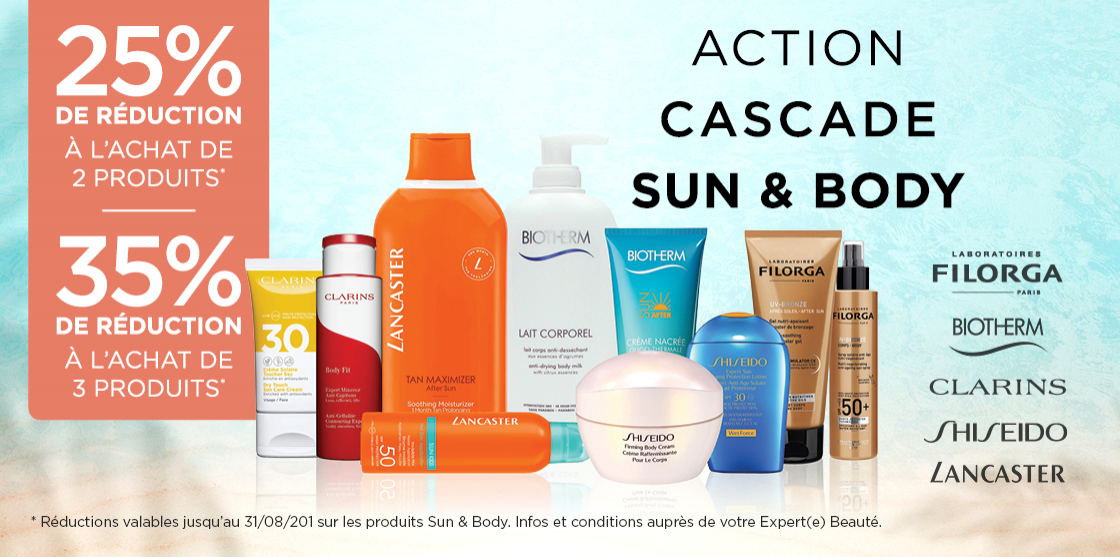 Action cascade sun & body