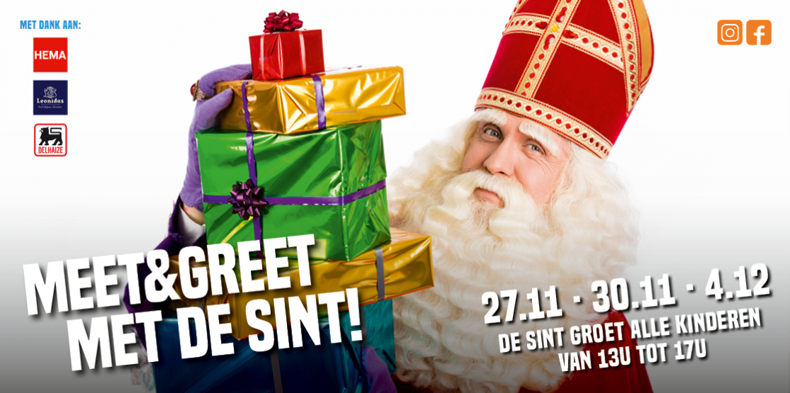 Meet & greet de Sint