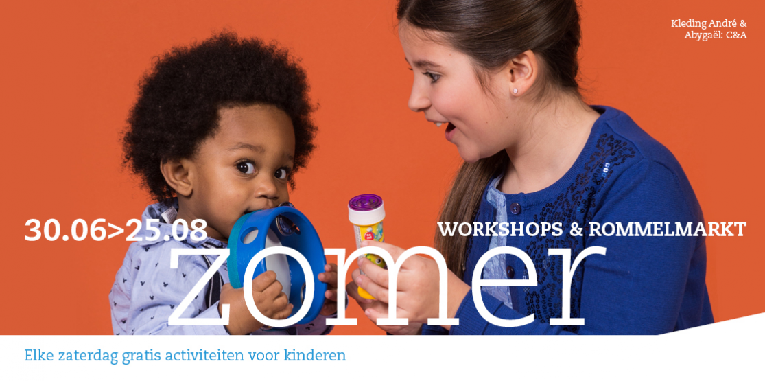 Workshops en rommelmarkt